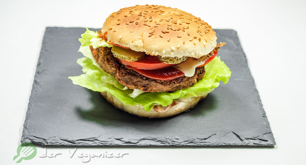 Kidneybohnen-Burger